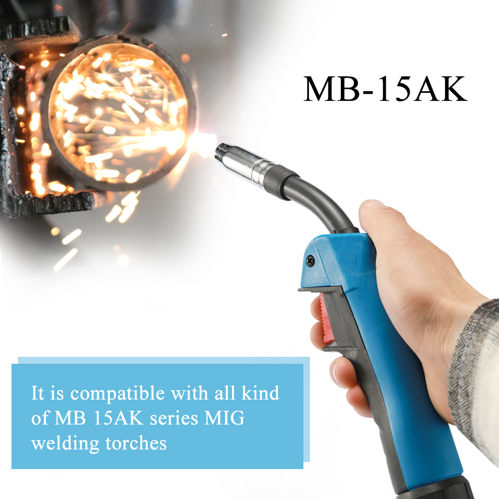 15AK Torch Body 180A MIG MAG MB 15AK Welding Torch Air-cooled European Style Welding Device Professional Welding Tool