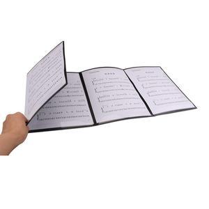 Складная музыкальная лист балл папка A4 Размеры Расширенная пианино папка