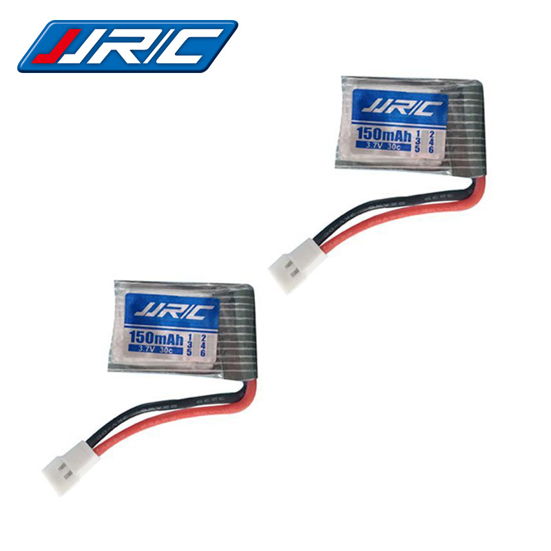 3.7V 150Mah 30c For JJrc H2 H8 H48 U207 Rc Quadclaptar Spare Parts 3.7 V 150 Mah Lipo Battery H8 Drone Toy Helicopter Battery
