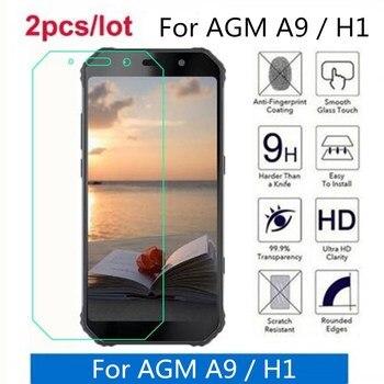 Перейти на Алиэкспресс и купить 2 шт./партия для AGM A9 закаленное стекло 9H 2.5D Премиум Защитная пленка для экрана для AGM A9/H1 5,99дюйм