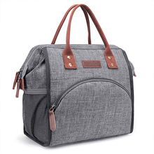 Oxford Large Capacity Lunch Bag Insulated Canvas Food Bag Tote Picnic Thermal Cooler Bags Women Lunch Box Bolsa Termica W405