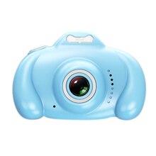 ABKT-2 дюймов Hd экран Детская цифровая камера 1080P Мини двойной объектив детская камера 16Mp Slr видеокамера лучшие подарки для детей