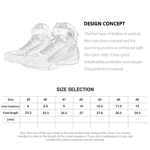 Image 5 - ARCX Motorcycle Boots Men Motorcycle Shoes Moto Riding Boots Breathable Motorbike Biker Chopper Cruiser Touring Ankle Shoes