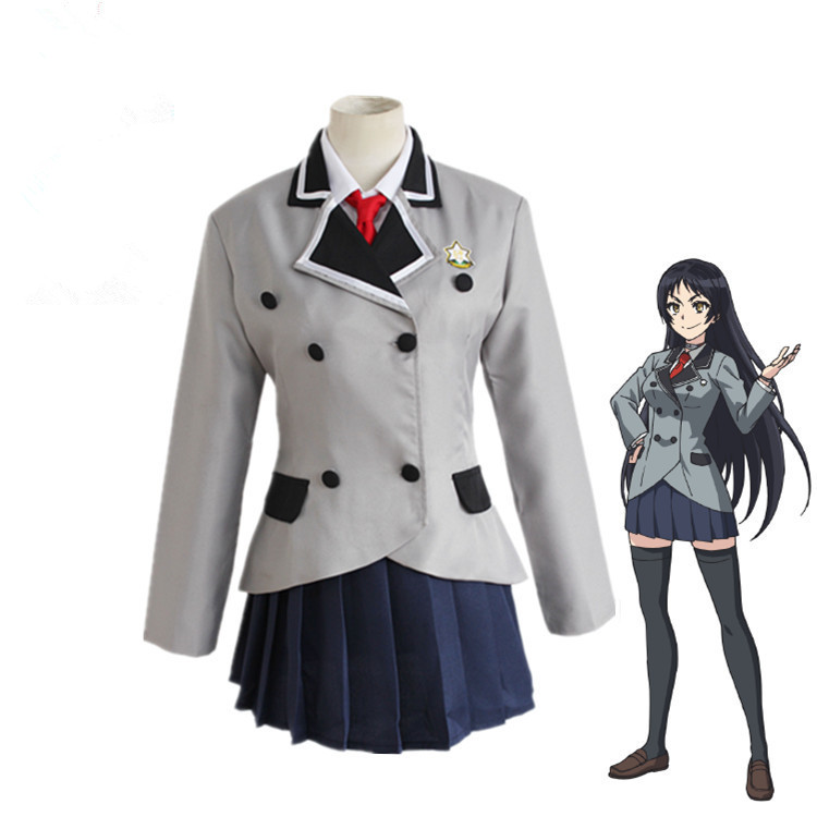 Anime Shimoneta A Boring World Where The Concept Of Dirty Jokes Doesn't Exist Cosplay Costumes Ayame Kajou Halloween Party image
