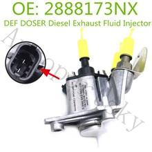 Высокое качество для Cummins ISX двигатели DEF дозатор дизель выхлопной жидкости инжектор 2888173NX, S17J0-E0020, S17J0E0020, A030P707 OEM