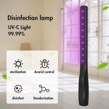 Disinfection Lamp UV-C Light Germicidal Lamp UV Lamp Germicidal Home Handheld germicidal quartz Bacterium Disinfection UV Lamp docan uv pinter 230mm uv lamp
