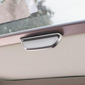 Image 4 - Zeratul Auto ABS Innen Sonne Dach Türgriff Schutz Abdeckung Trim Aufkleber für Volkswagen VW Golf 7 7,5 MK7 MK 7,5 2013   2019