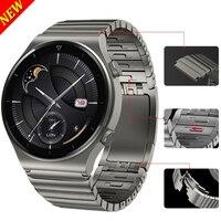 22Mm Metalen Roestvrij Stalen Band Voor Huawei Horloge Gt 2 Pro 2e Porsche Versie Ecg Officiële Link Armband Voor honor Magic 2 46Mm