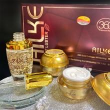 Face Whitening Cream Day Night Cleaner Serum Toner Sets Acido Hialuronico Rose Essential Oils Skin Lightening Dark Spot Remover