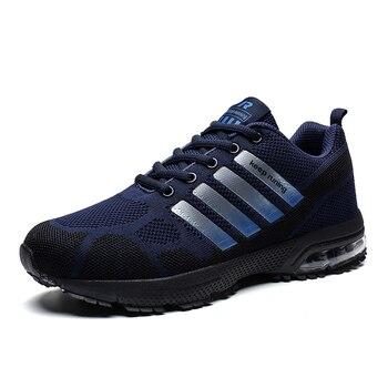 Zapatillas para correr para hombre y mujer, zapatos deportivos para caminar, transpirables,...