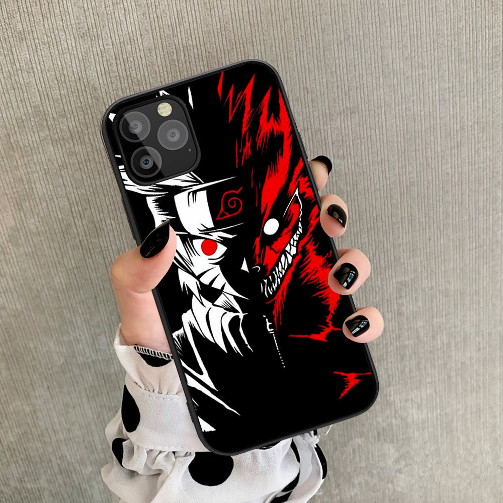 NARUTO THEMED IPHONE CASE (10 VARIAN)