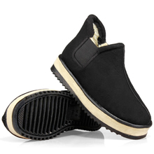New Fashion Casual Thick Snow Shoes Middle-Aged Elderly Warm Shoes Non-Slip Outdoor Sports Casual Shoes Cotton Shoes In Winter