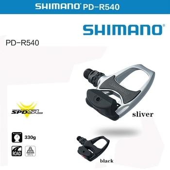 Pedales ultraligeros para bicicleta de PD-R540, con plataforma, sistema de SPD-SL profesional,...