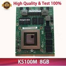 Видеокарта Geforce K5100M N15E-Q5-A2 CN-034P9D 034P9D для ноутбука DELL M6700 M6800 hp 8770W ZBOOK17 G1 G2