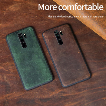 Genuine Leather case For Xiaomi redmi note 8 pro k20 Luxury shockproof cover For xiaomi Mi 9 T 9T PRO Genuine leather fundas