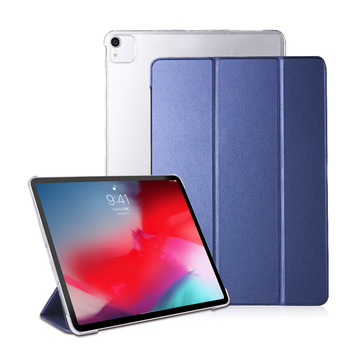 For iPad Pro 12 9 2020 Case 4th Generation PU Leather Smart cover 2018 case 3th PC back Tablet