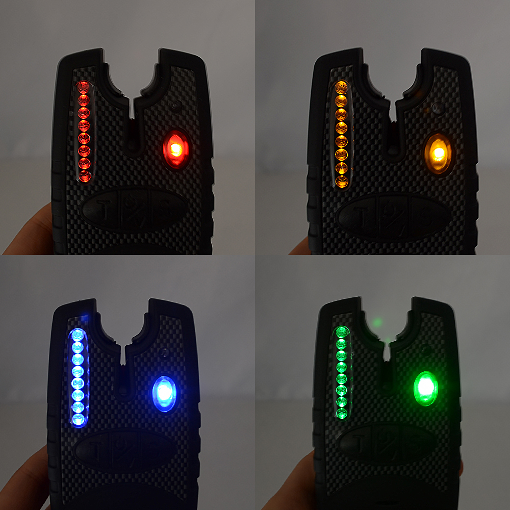 2pcs carp fishing bite alarm electronic bite indicator