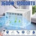 Настольный кондиционер 3600 Вт AC220-240V24-hour таймер холодного использования с пультом дистанционного управления светодиодный пульт управления ...