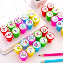 20 PCs English Teacher Reviews Student Reviews Seal Kit Teacher Seal Stamps School Office Stationery Wholesale