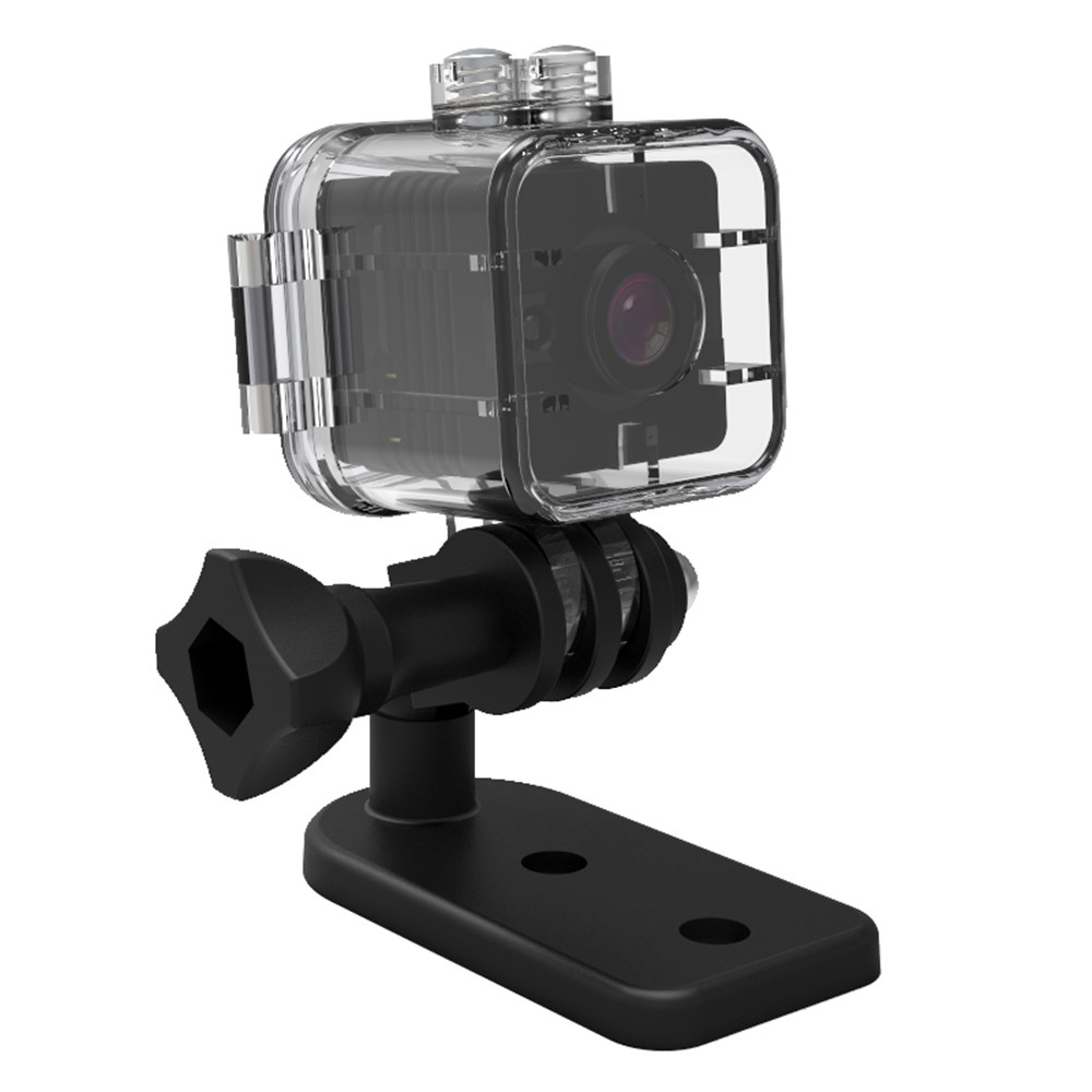 SQ12 HD 1080P Mini Camera Night Vision Mini Camcorder Sport Outdoor DV Voice Video Recorder Action Waterproof Camera Monitor