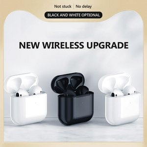 Pro 4 TWS Wireless Bluetooth Headphets For IOS pk i9000 tws i50000 tws i9000 pro