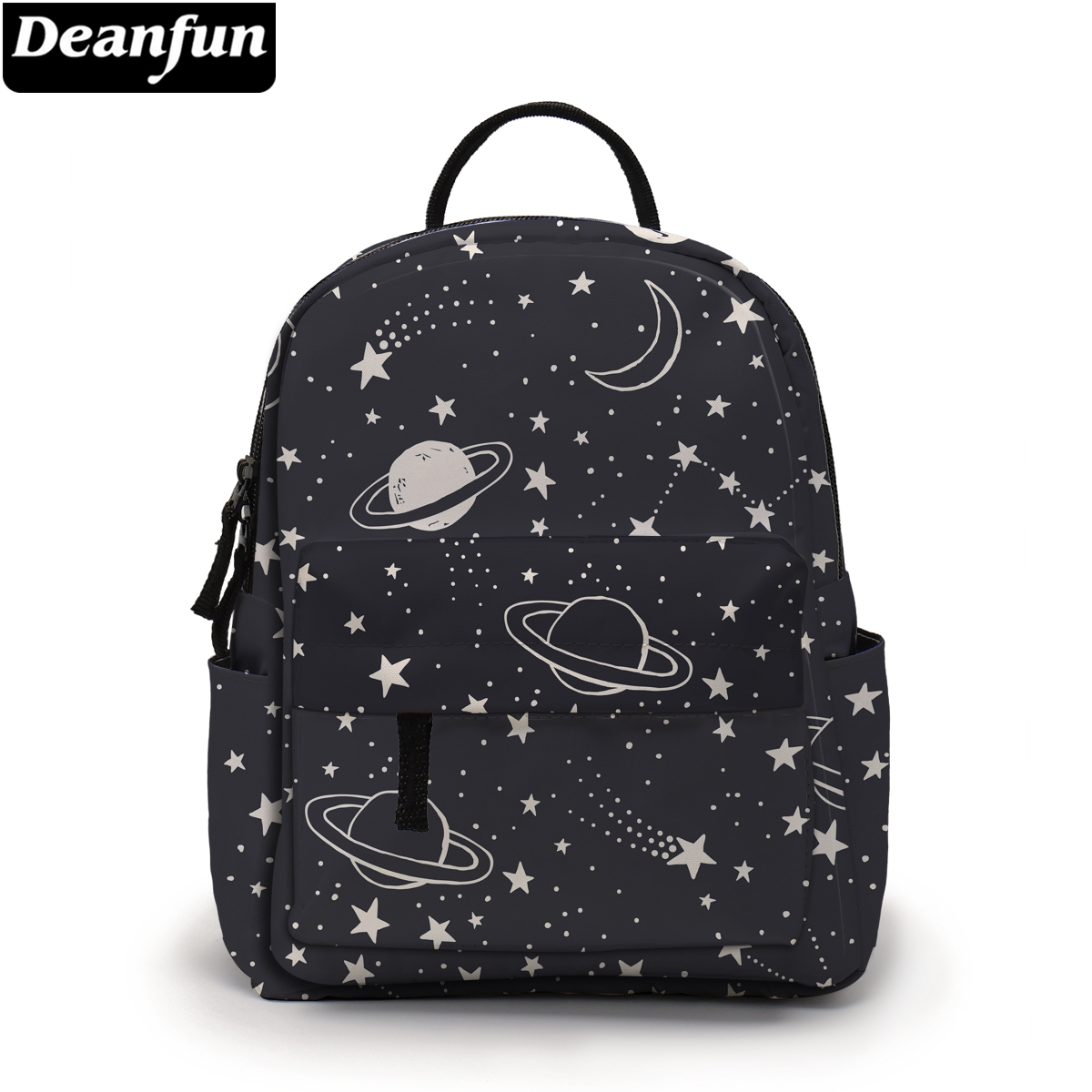 Deanfun Planet Printing Mini Backpack Star Pattern Gorgeous Girls Shoulder Bags Fashion School Backpack For Teenagers MNSB-24