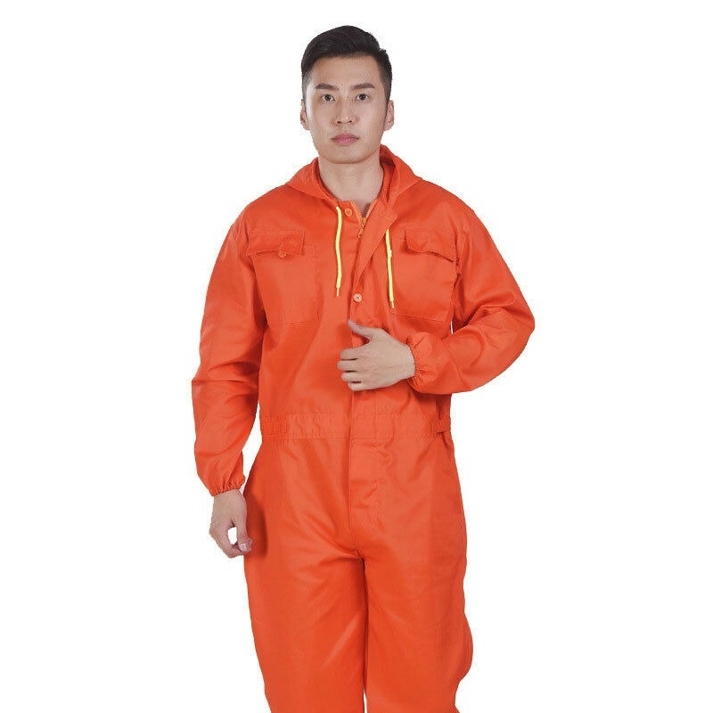 Men'S Overalls Coveralls Pants Workwear Jumpsuit Decorator Mechanic Uniform