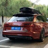 Auto Accessories Fit For Audi A6 A6 Avant Wagon Spoiler 2016-2018 High Quality Carbon Fiber Roof spoiler