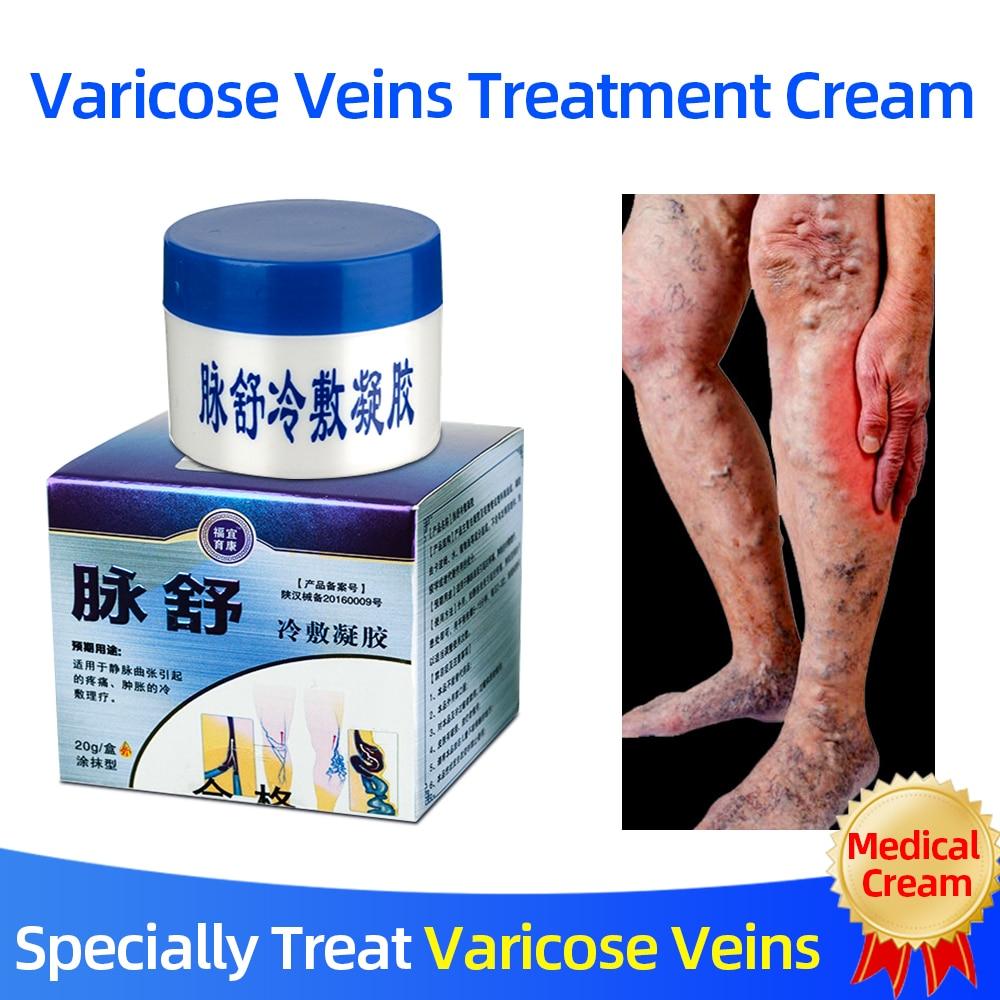 Herbal Medicine For Treating Varicose Vasculitis Phlebitis Spider Legs Veins Pain Massage Cream Treat Varicose Vein Ointment 1