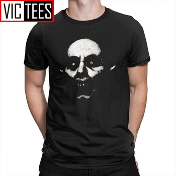 Helloween Horror Nosferatu The Vampire Men T Shirts Comfortable Clothes Funky T-Shirts Crew Neck Cotton Tee Shirt