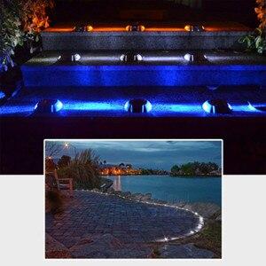 Image 5 - 新しい屋外 6LED ソーラー防水ライト道路信号インジケータ防水ガーデン風景ライト埋葬ライト芝生照明