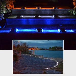 Image 5 - New outdoor 6LED solar waterproof light road signal indicator waterproof garden landscape lights buried lights lawn lighting