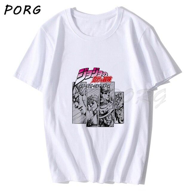 Manga T-shirt Harajuku Streetwear