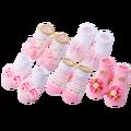 5 Paare/los Neugeborenen Baby Socken Kind Baumwolle Socken Baby Mädchen Schöne Kurze Socken Kleidung Zubehör Für 0-6,6-12,12-24 monat