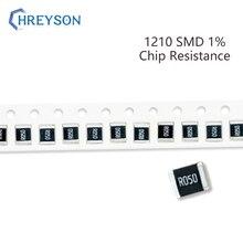 100Pcs 1210 Kit SMD Resistor 1% Tolerância 0R-392R 8.2R 9.1R 10R 11R 12R 13R 15R 10 Ohm Componentes Eletrônicos DIY Assorted Set