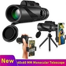 Tongdaytech 40x60 MM Monocular Telescope Phone Camera Zoom Telephoto Lens With Tripod For Iphone Samsung Xiaomi Smartphone Lente