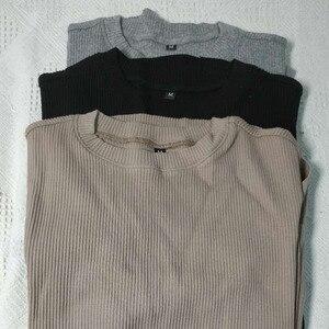 Женская футболка, повседневная, весна-лето, черная, серая, хаки, с карманом, удобная, Новое поступление, высокое качество, хлопок 2020