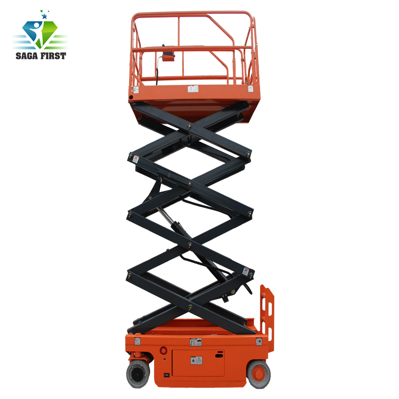 8m Automatic Mobile Scissor Lift Table For Aerial Work