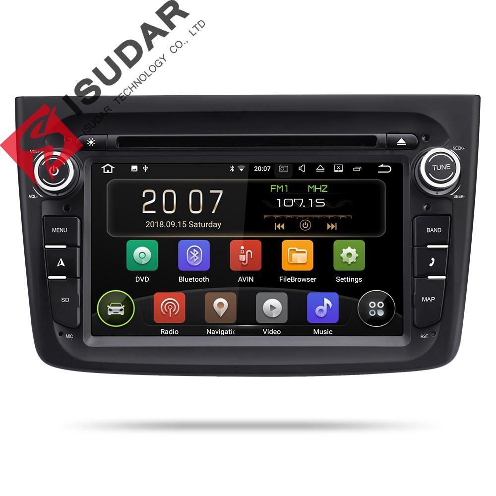 Isudar 9 2 Din Player Multimídia Carro Android Para Alfa Romeo Mito 2008-Auto CANBUS Rádio Quad Core Vídeo DVD GPS Sistema DVR USB