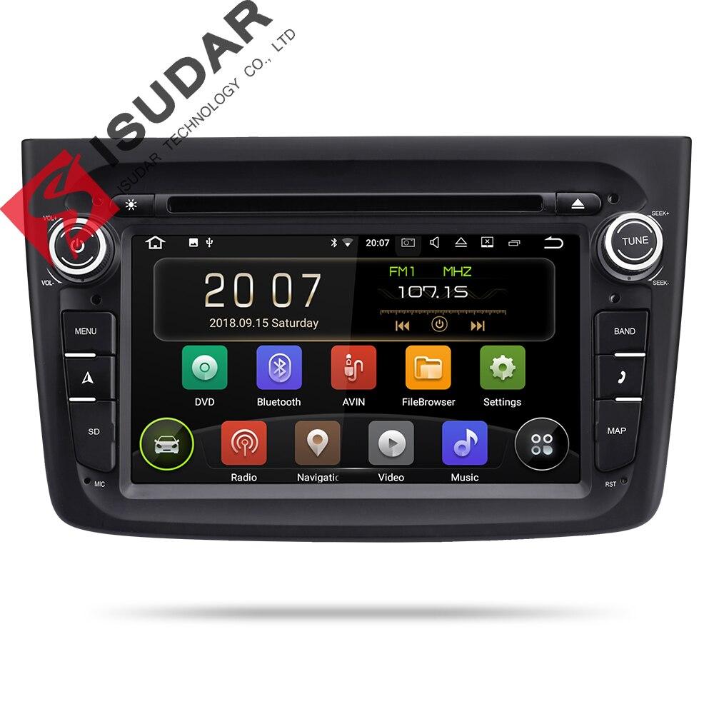 Lecteur multimédia de voiture Isudar 2 Din Android 9 pour Alfa Romeo Mito 2008-Radio automatique CANBUS Quad Core vidéo DVD GPS système USB DVR