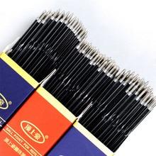 Ballpoint-Pen Refill Black/red School-Stationery Writing-Supplies 30pcs/Lot Press Office