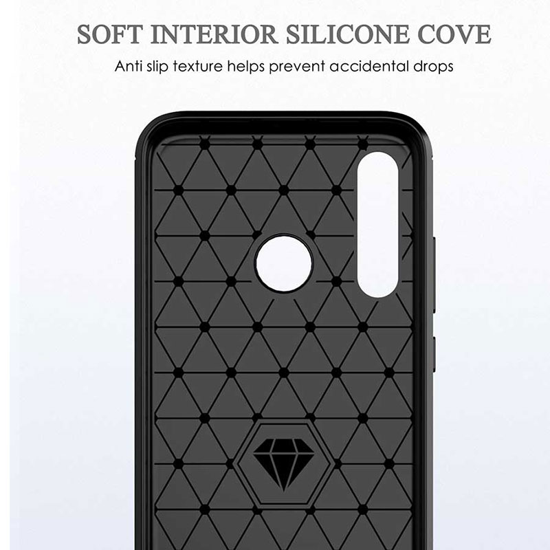 Image 4 - NEW Luxury Case Silicon TPU Carbon Fiber Soft Silicone for Samsung Galaxy A10 A20 A30 A50 A60 A70 A80 A90 5G M10 M30S Cover Case-in Half-wrapped Cases from Cellphones & Telecommunications