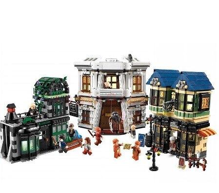 DHL LP 16012 2025 pièces mot magique Diagon allee Set blocs de construction éducatifs briques modèle jouets cadeau compatible avec 10217 jouets
