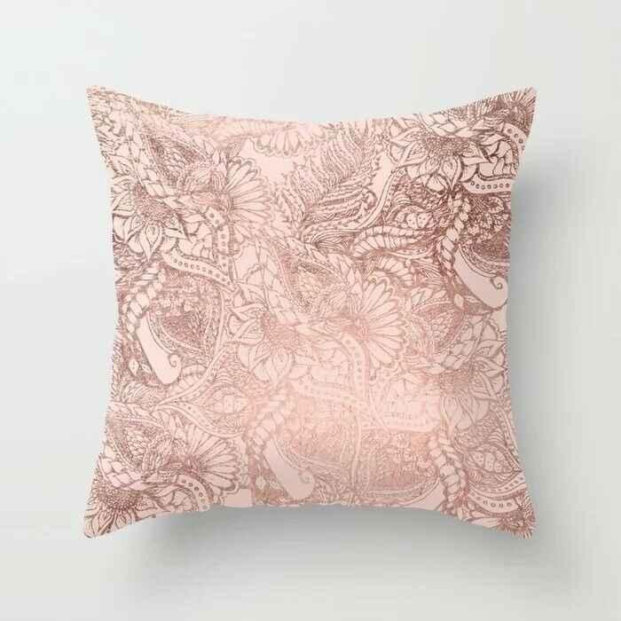 35 Tyles Hot Menjual Pink Sederhana Pelukan Ulas Double-Sided Printing Nordic Style Mobil Bantal Sofa Sarung Bantal Cover Home dekoratif