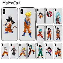 Maiyaca Panas Dragon Ball Super Son Goku DIY Dicat INDAH UNTUK iPhone 11 Pro XS MAX 8 7 6 6S Plus X 5 5S SE XR(China)
