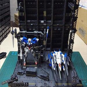 Image 4 - 4 개/대 DIY 기계 체인 액션 디스플레이 기본 기계 둥지 1/100 건담 모델에 대 한 Decals