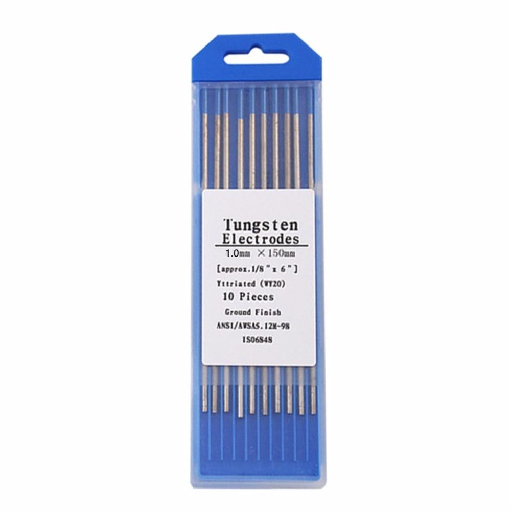 10pcs/Box WL20 Blue Color Thorium Tungsten Electrode Head Tungsten Needle/rod For Welding Machine