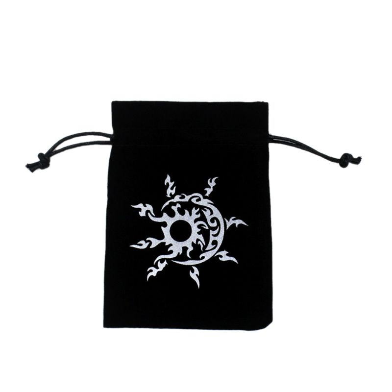 New Tarot Storage Bag Velvet Playing Card Drawstring Package Board Game Dice Bag