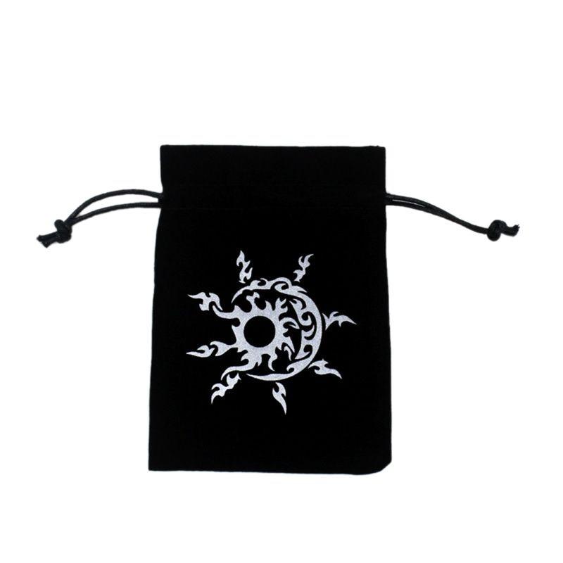 New Tarot Storage Bag Velvet Playing Card Drawstring Package Board Game Dice Bag