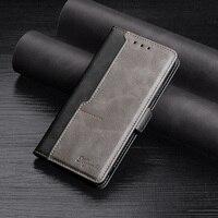 Color Flip teléfono caso para Redmi Nota 10 9 9 9T 8 8T 7 6 5 4 Pro Funda magnética en Redmi 9 3 4A 4X 5 6 6A 7 8 De cuero Coque